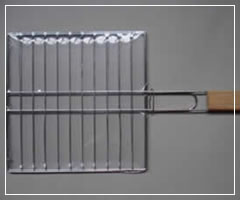 Zinc Plated Grid with Handles