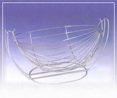Suspendable Fruit Baskets, Stainless Steel