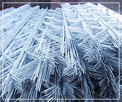 Welded Wire Mesh Panel for Reinforing Concrete