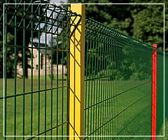 Welded Wire Security Fence